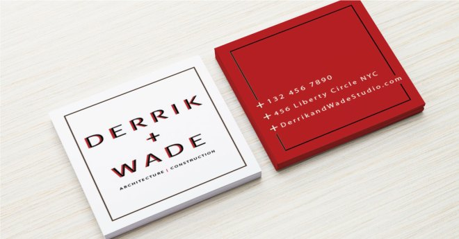 Non-standard shapes for business cards may give your brand another way to stand out.