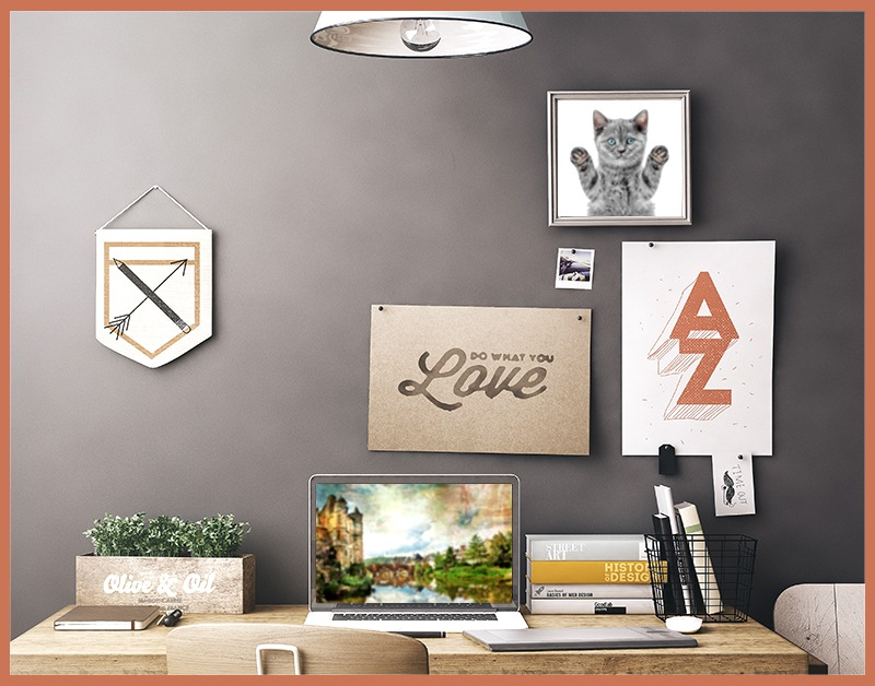 how to hang posters without damaging