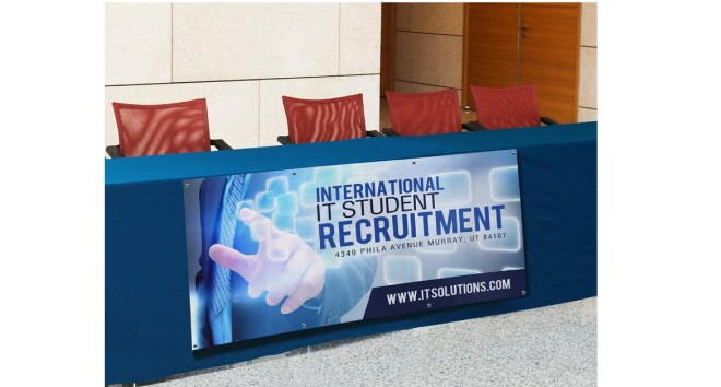 Table Banners - Recruitment