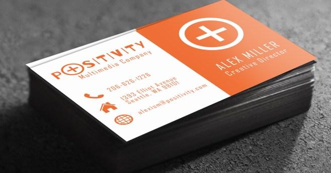 standard gloss business card stock