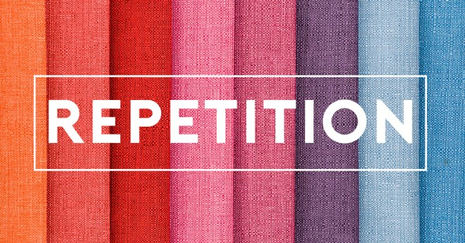 effective visual motif repetition