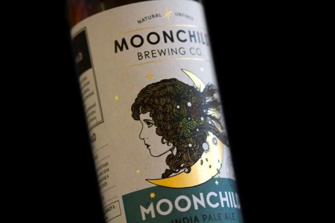 beer bottle labels - Moonchild