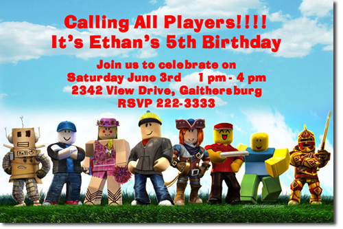Birthday Event Invite