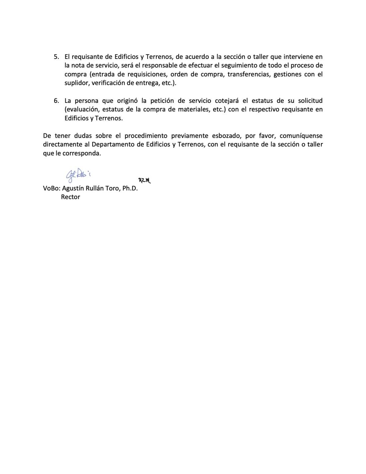 procedimiento entrada requisiciones mantenimiento pag 2