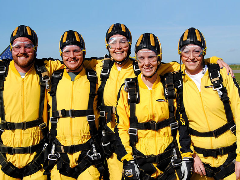 Sky Dive Team Ups and Downs Southwest