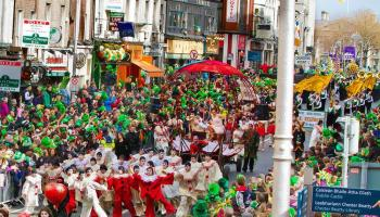 Saint Patrick's Day Of Irland