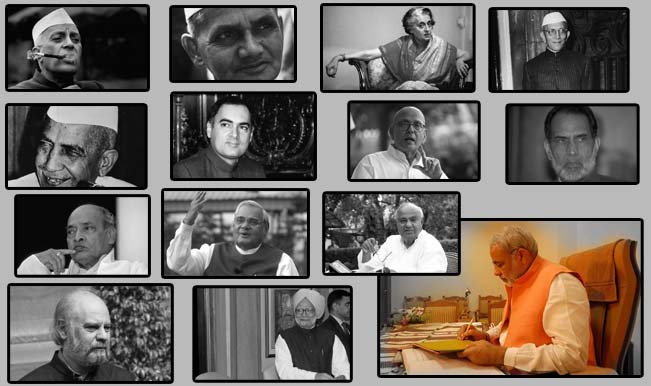The Prime Minister's of India and their tenure