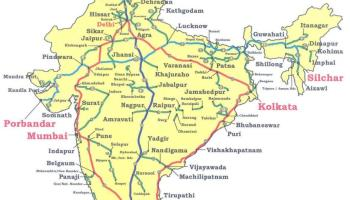 INDIA National Highway Map