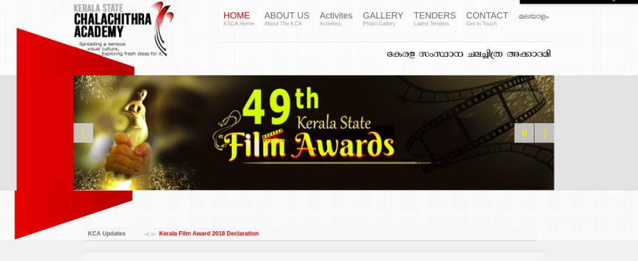 Kerala State Awards 2019