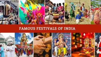 State-Wise List of Festivals in India