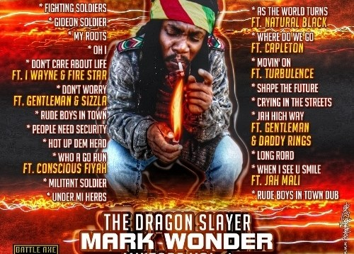 Mark Wonder: Dragon Slayer (Free Reggae Mixtape)