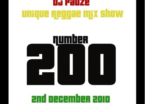 Pauze Radio- Show #200- 4th Birthday Dubplate Special