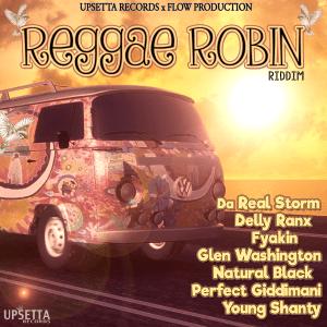 Reggae Robin Riddim Cover