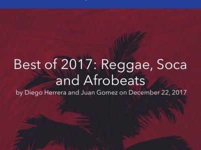Ouji Riddim Best of 2017 According to Pandora