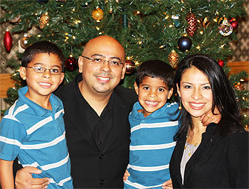 The Spirit sends the Mejia family to lead our sister church<br /> in Washington DC!