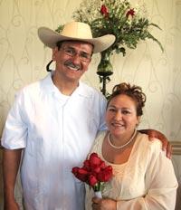 Victor &amp; Sonia Gonzalez celebrate the<a class=