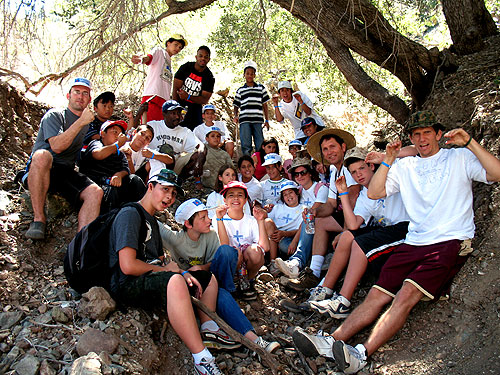 The Pre-Teen Camp led by Lance Underhill at Big Bear Lake!