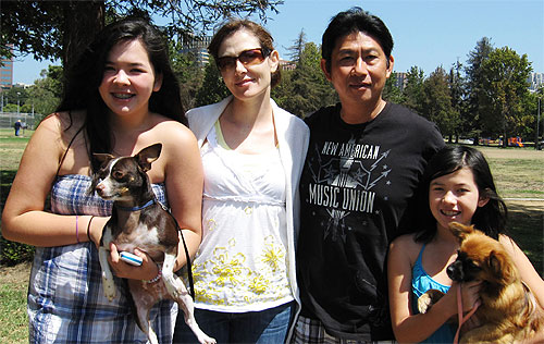 Let's welcome Zoe, Tanya, Son and Sydney Tran into the fellowship!