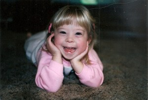 Leah has my favorite laughing face ever, at age 2 or age 33.