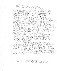 My Sister's Special_By Lindsay Stodden_Age 5__0001