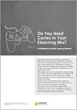 Do You Need Games In Your Elearning Mix?