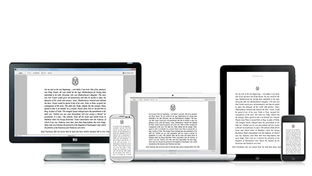Example of Multi-device Continuous Experience - Kindle