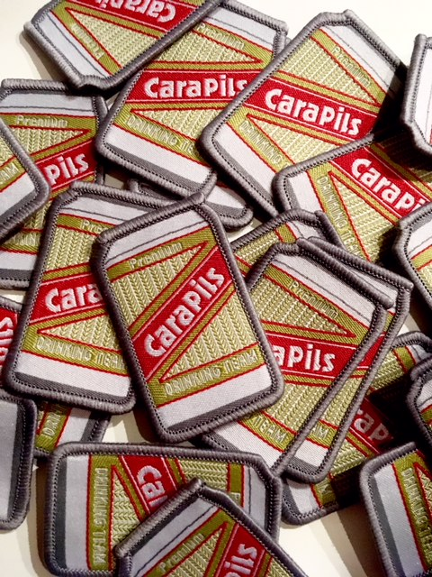 Stack of Cara Pils Patches