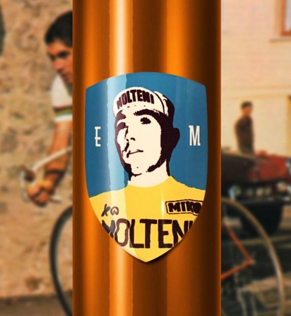 Eddy Merckx Headbadge