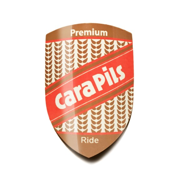 Cara Pils Headbadge for your bicycle