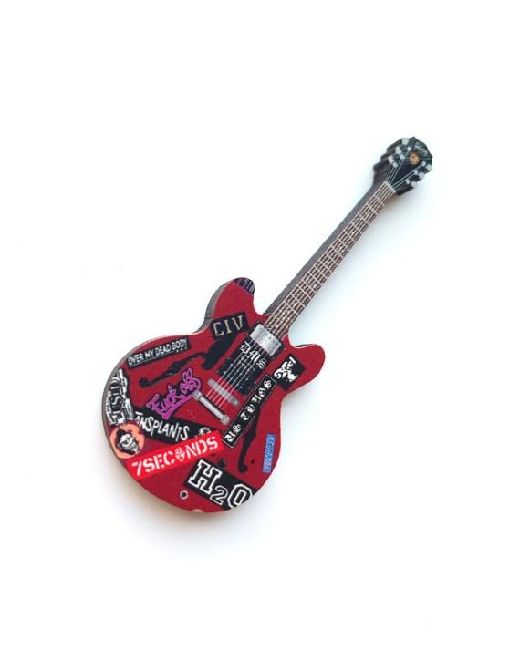 Box Car Racer Guitar Pin