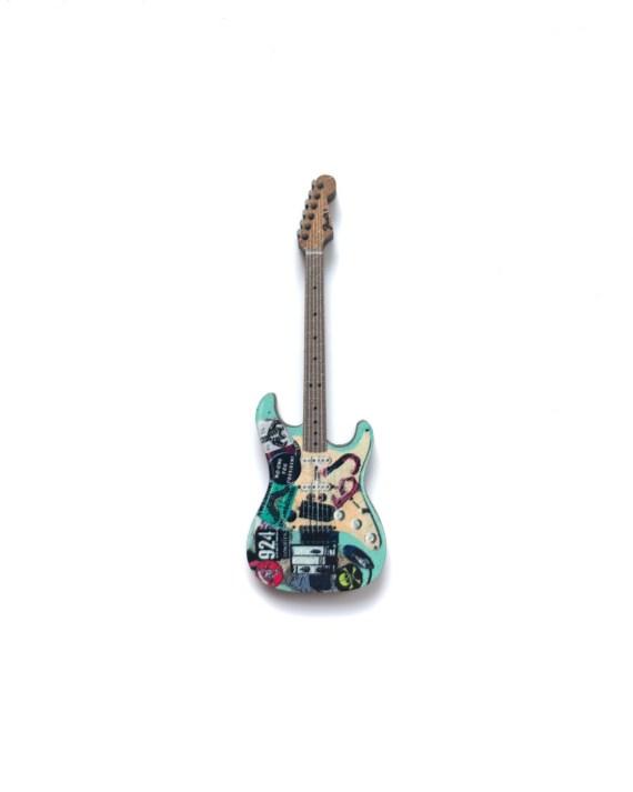 Billie Joe Armstrong Guitar Pin