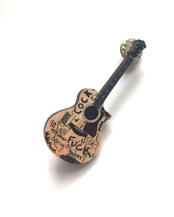 TD Acoustic Guitar Pin