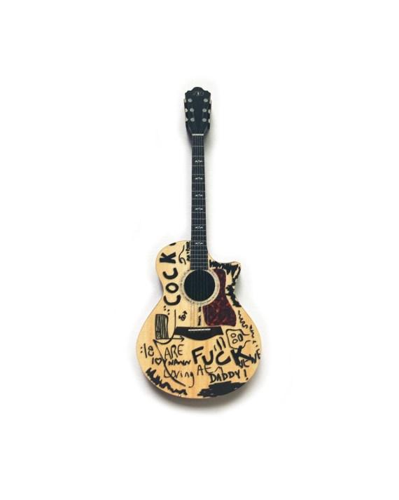 C*ck F*ck Acoustic Guitar