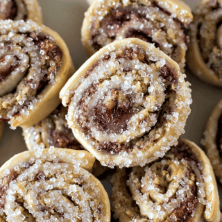 Raspberry Pinwheel Cookies - Christmas in July
