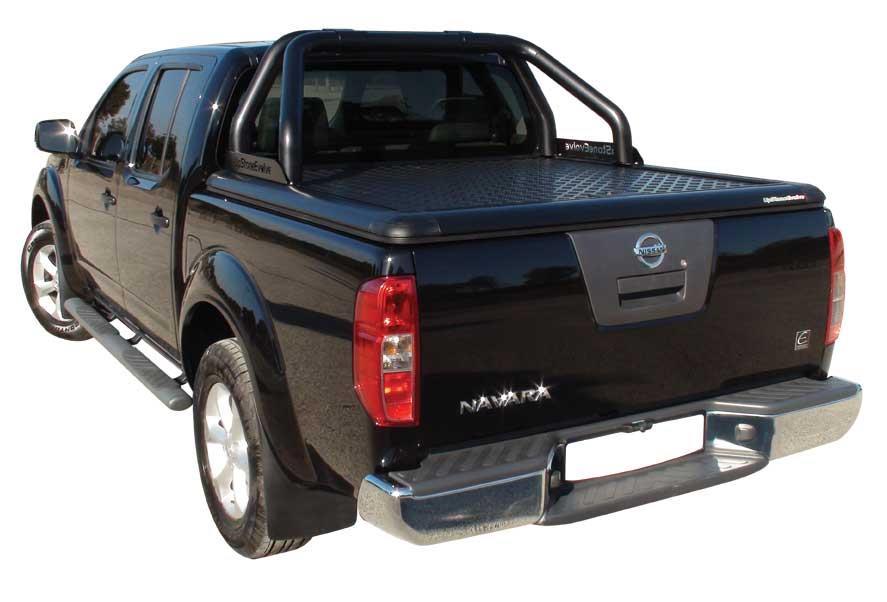 Evo389b Upstone Aluminium Tonneau Cover Nissan Navara