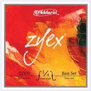D'Addario Zyex Double Bass Strings