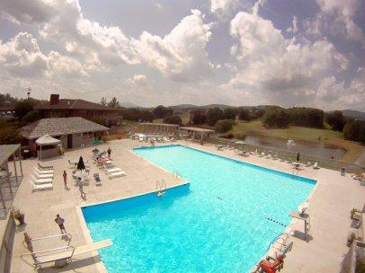 View of LGCC Pool Deck