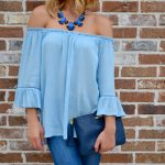 Summer Trend: Off the shoulder top