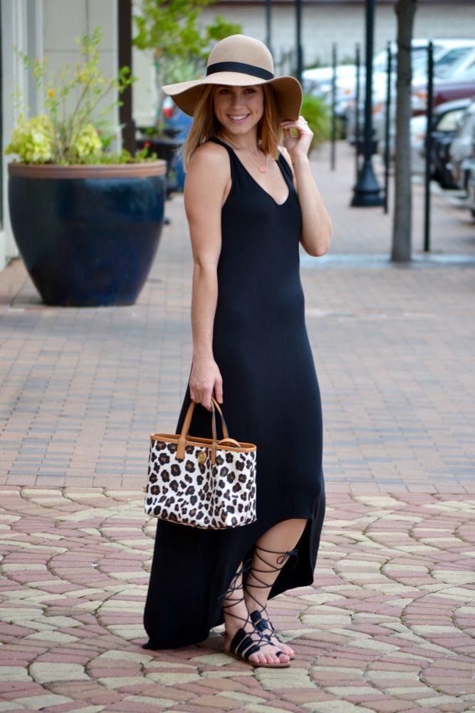 High/Low Maxi Dress