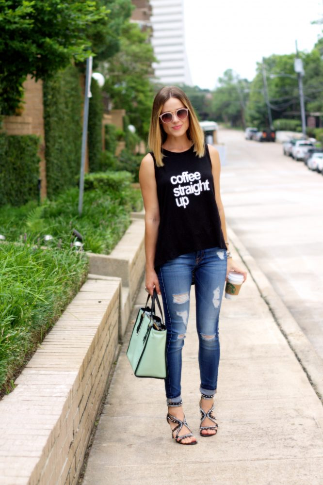 Street casual outfit