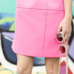 How to wear a bright pink dress all year