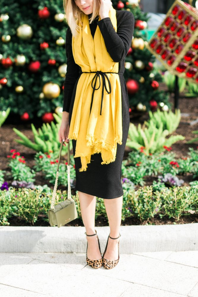 Holiday outfit look
