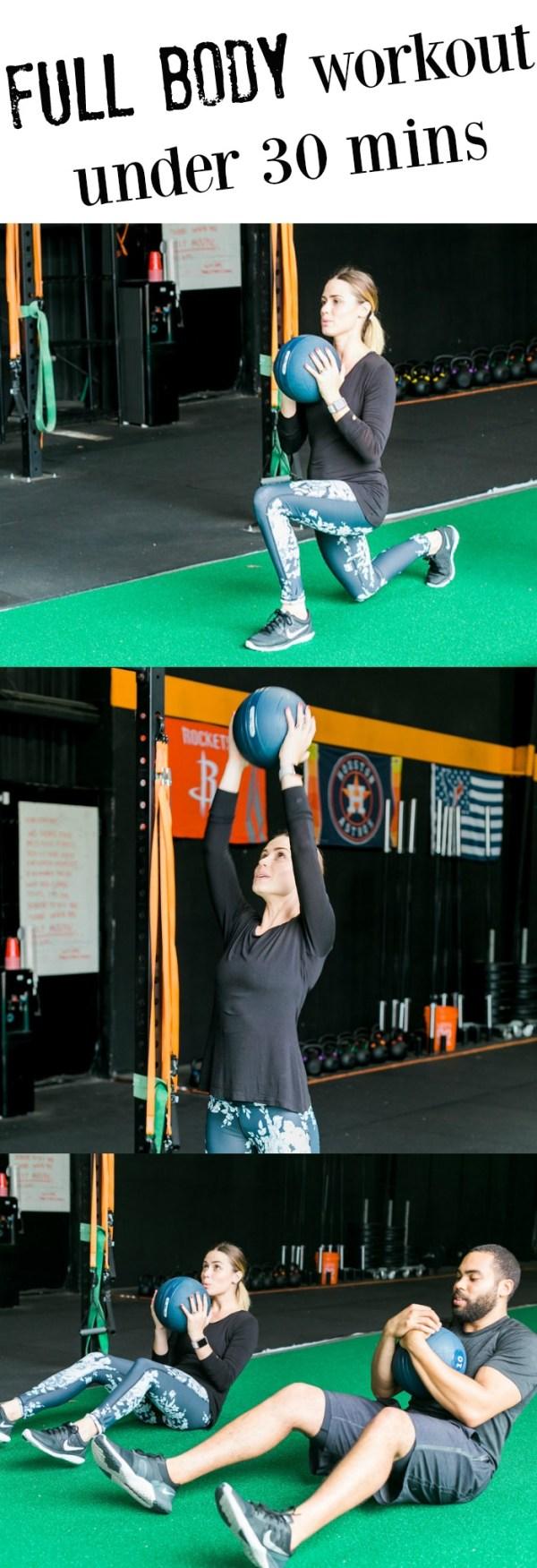 full body workout for women