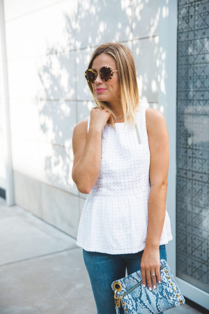 How to wear cropped jeans | Cropped denim | Uptown with Elly Brown
