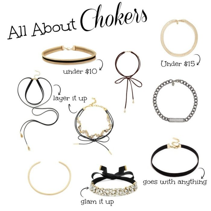 The hottest Fall trend: Chokers | Chokers under $50 | Uptown with Elly Brown