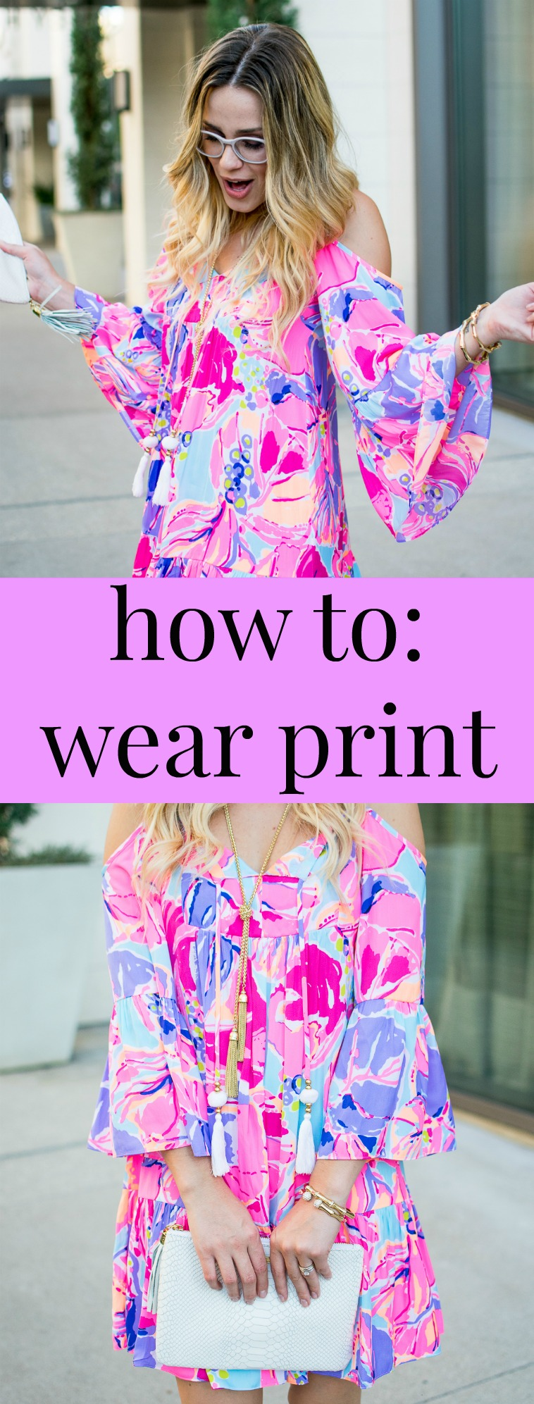 Lilly Pulitzer Dress   How to wear Print   Uptown with Elly Brown