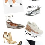 Tuesday Trend: Metallic Shoes