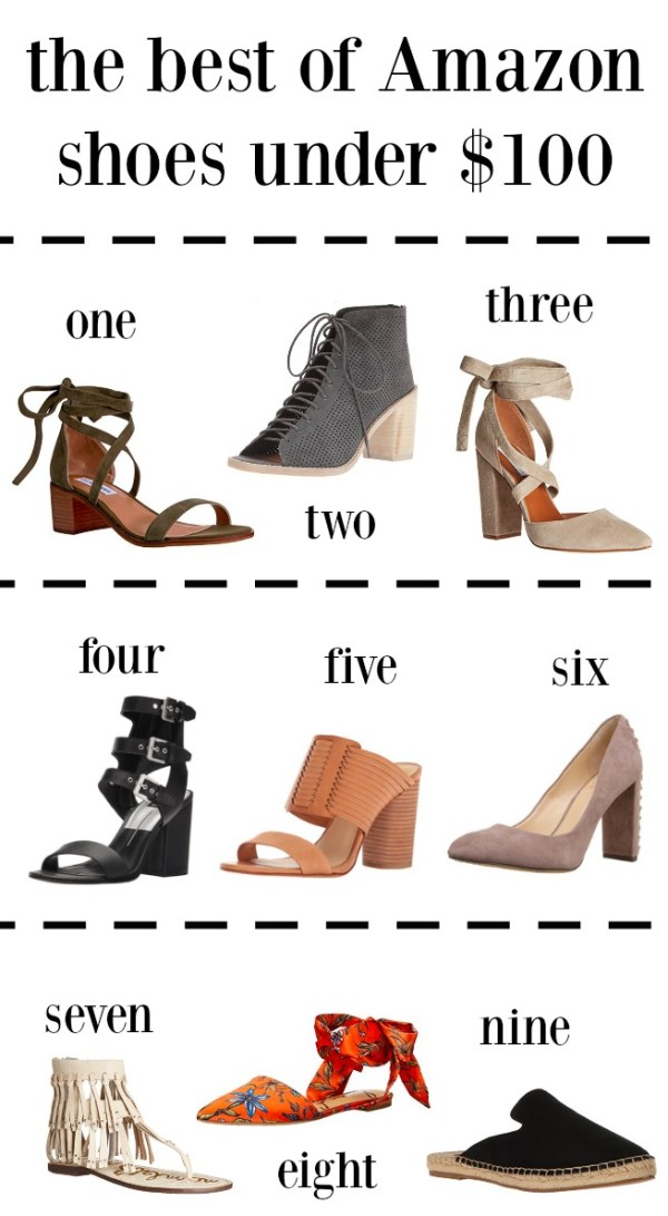 Amazon shoes under $100   Spring shoes   The best Spring shoes under $100   Uptown with Elly Brown