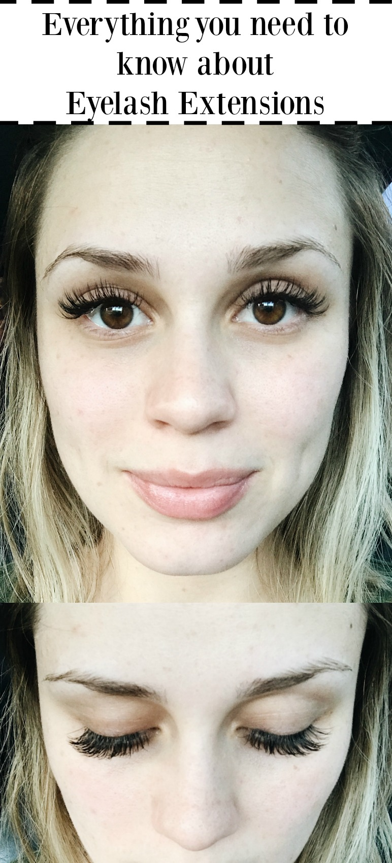 Everything you need to know about eyelash extensions - The good, the bad, and the ugly! | Lash extensions | Uptown with Elly Brown