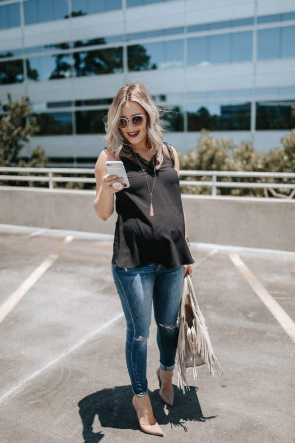 Silly Things I Miss Pre-Pregnancy | Maternity Fashion | Maternity outfit | Spring outfit | Uptown with Elly Brown